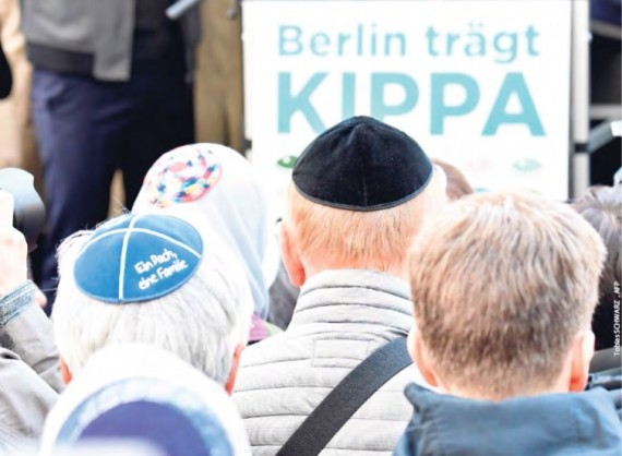 Die Kippa gehört zu Deutschland